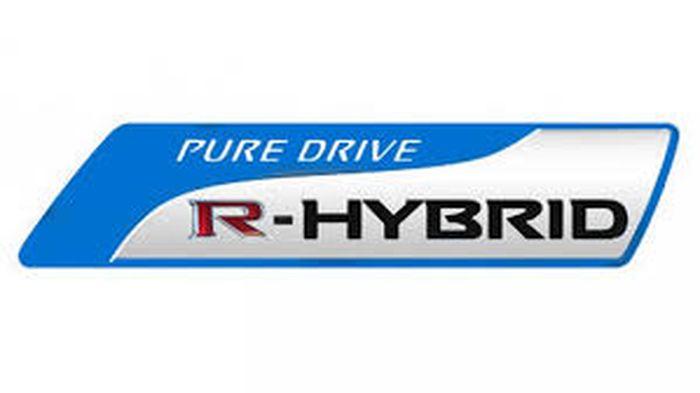 Pure Drive R-HYBRIDのエンブレム