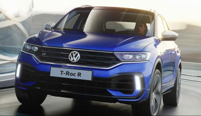 新型 フォルクスワーゲン T-ROC R