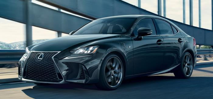 IS F Sport Black Line Edition