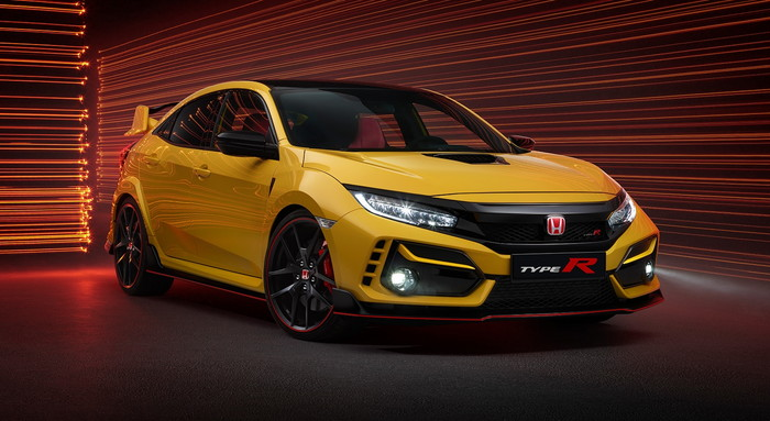 civic TYPE Rlimited edition