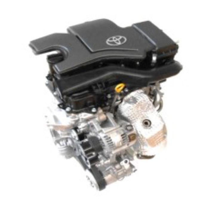新開発された1.0L 直3 DOHC エンジン