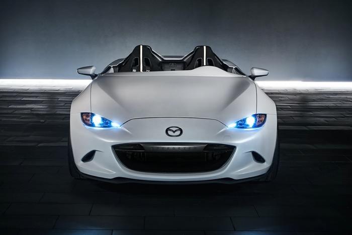 新型ロードスター(MX-5) Speedster Evolution