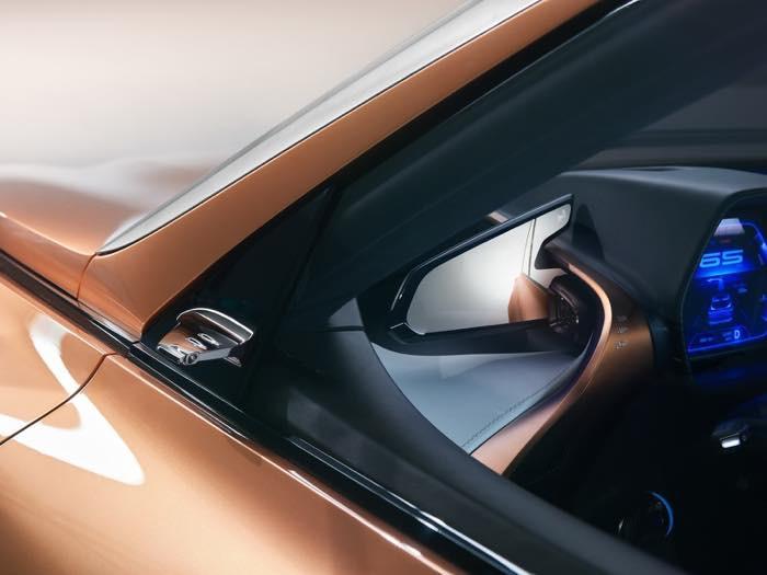 Lexus LF-1 Limitless concept デジタルアウターミラー