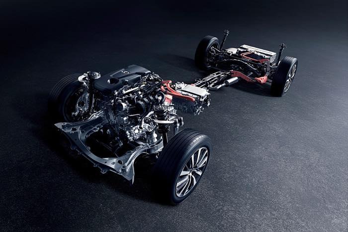 2.5L ダイナミックフォースエンジン(A25A-FXS)ハイブリッドシステム