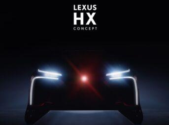 LEXUS HX concept